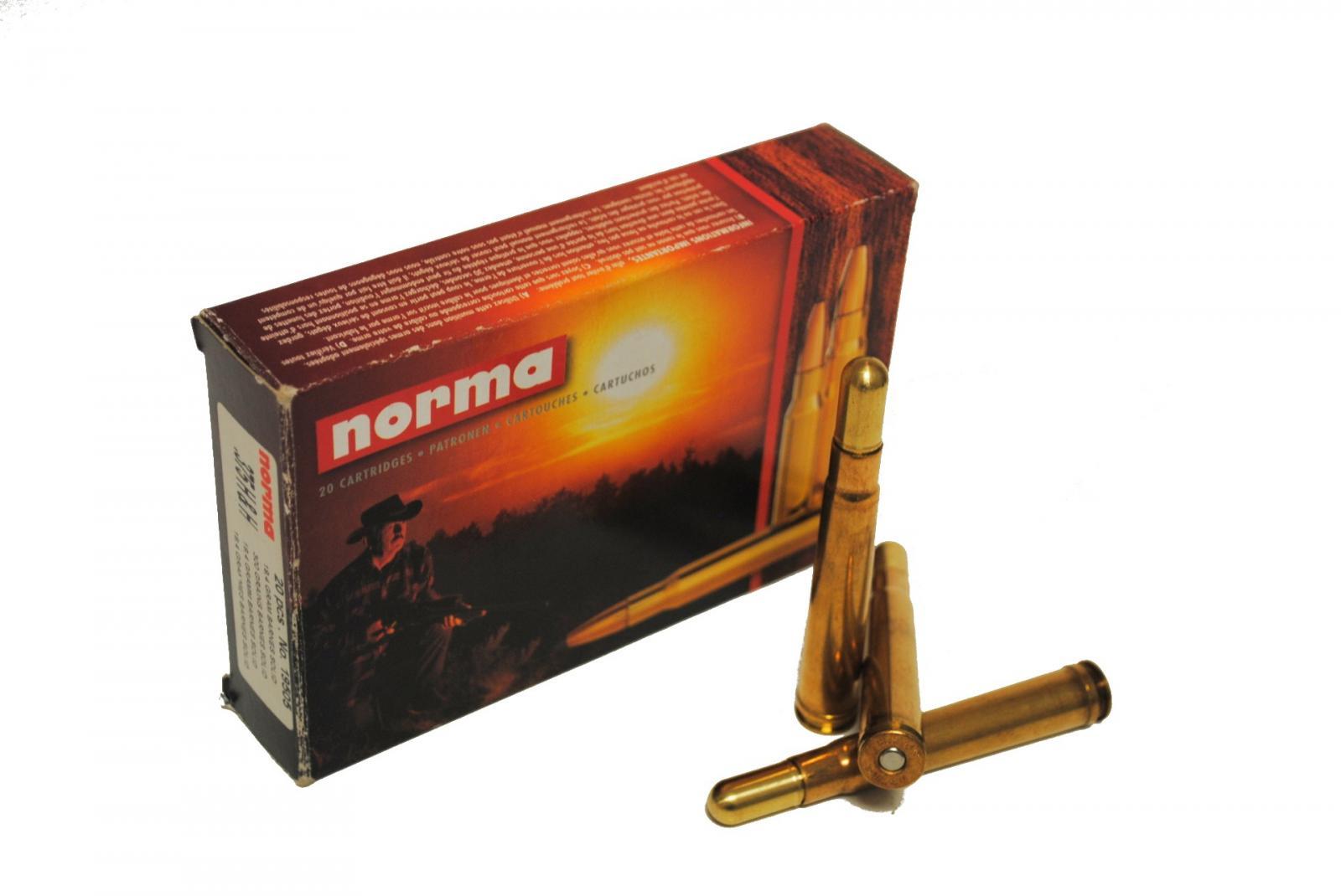 Boite de 20 cartouche NORMA cal 375HH Mag 300grs BARNS N19505
