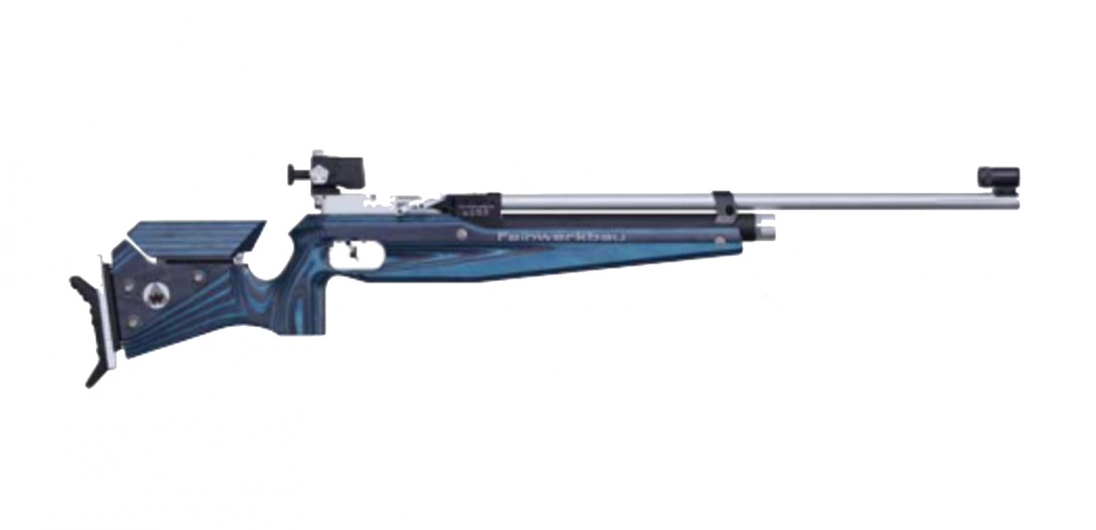 Carabine FEINWERKBAU 800 JUNIOR Bleue à air comprimé