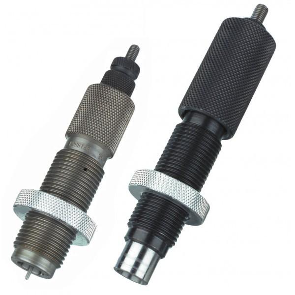 Jeu 2 outils cal 7x64 Brenneke avec recalibreur intégral et positionneur de balle Bench Rest