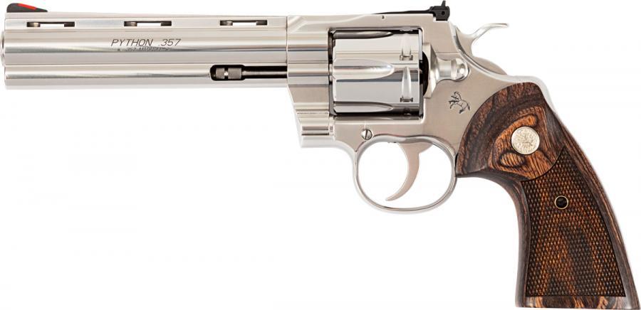 """Revolver COLT PYTHON inox calibre 357 magnum 6"""""""