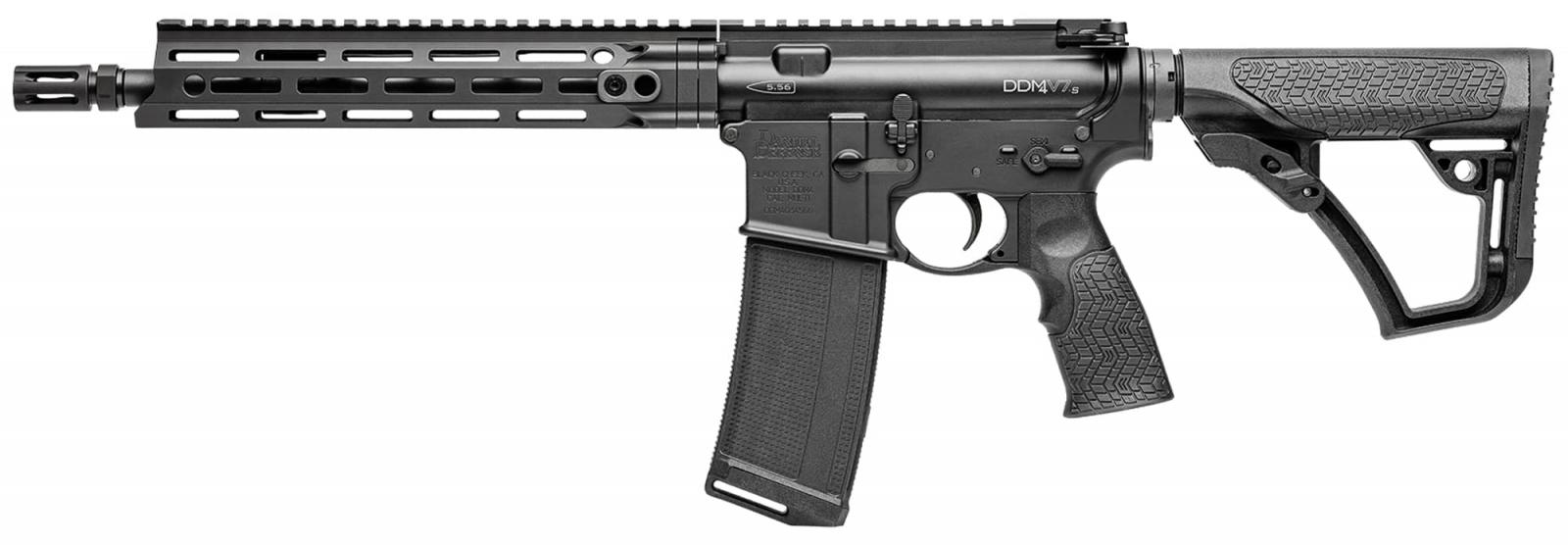 Carabine semi-auto DANIEL DEFENSE DDM4 V7S type AR15  Cal .223