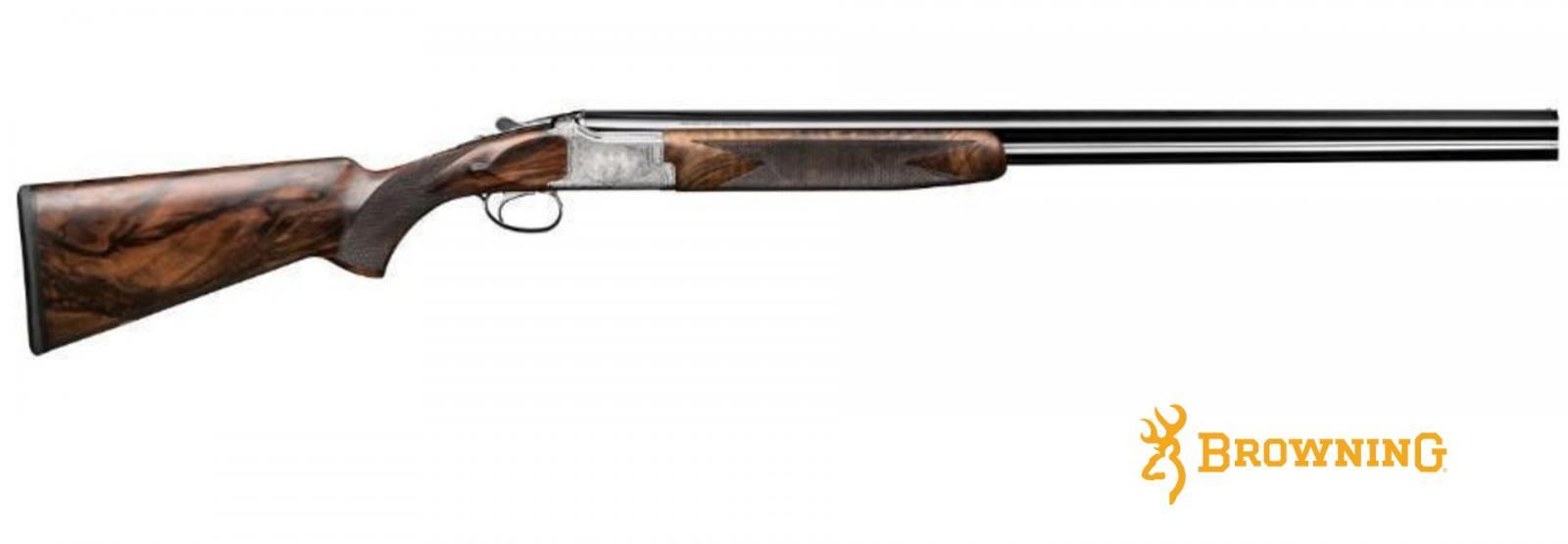 Fusil BROWING B525 CROWN LUXE Édition Limitée Cal 20/76