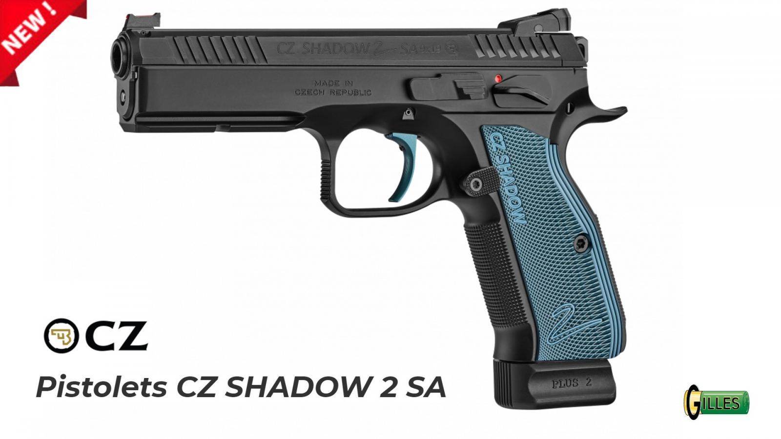 CZ Shadow 2 Simple Action cal 9x19 CZSHA2SA