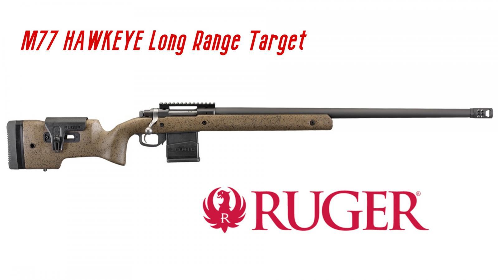 Carabine RUGER M77 HAWKEYE LONG RANGE TARGET