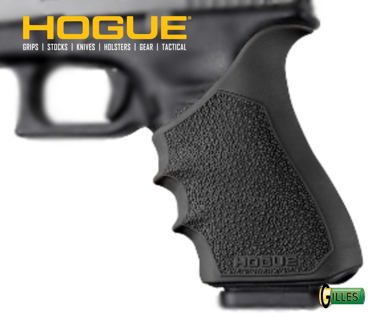 Surpoignée HOGUE pour Glock 17 Gen 3 et 4