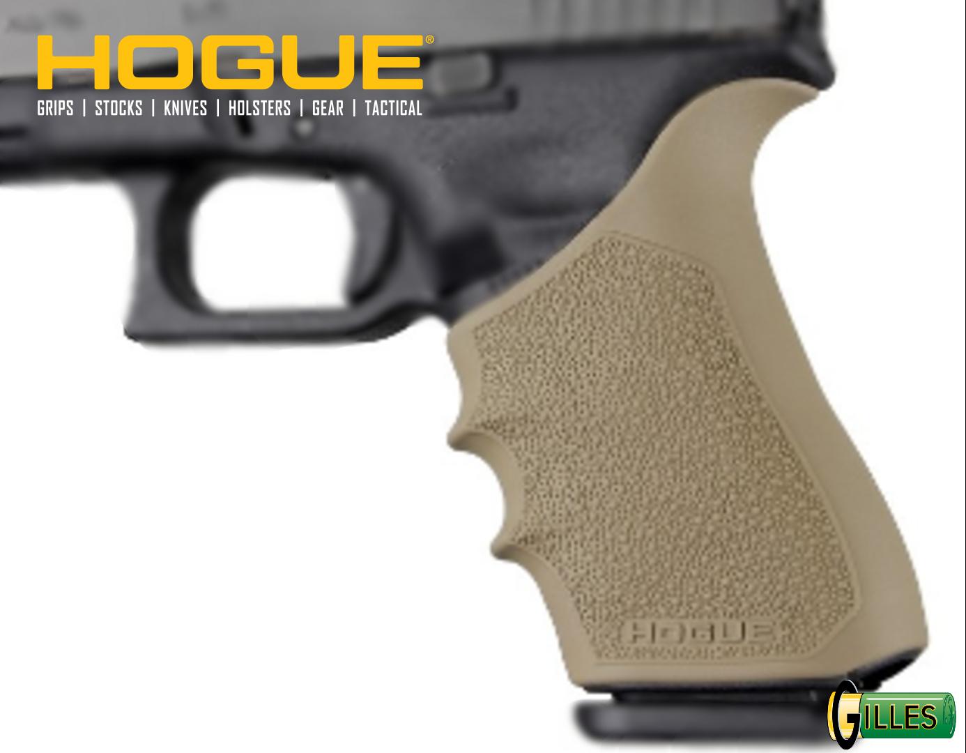 Poignée HOGUE pour Glock 17 Gen1,2 et 5