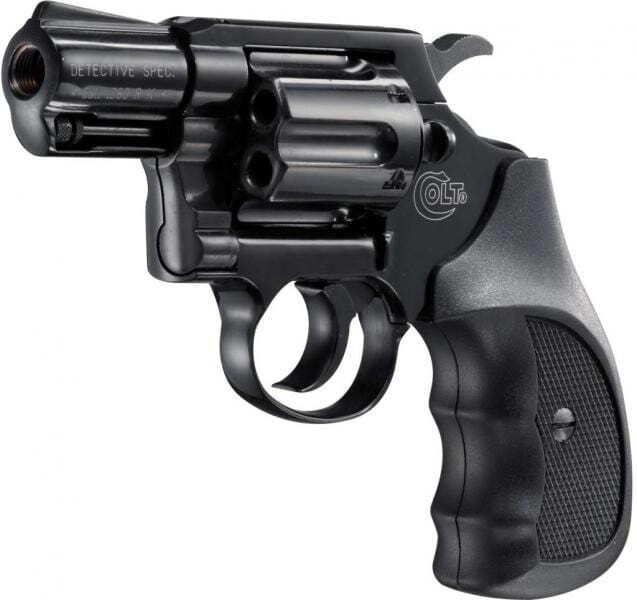 Revolver 9mm à blanc UMAREX COLT DETECTIVE