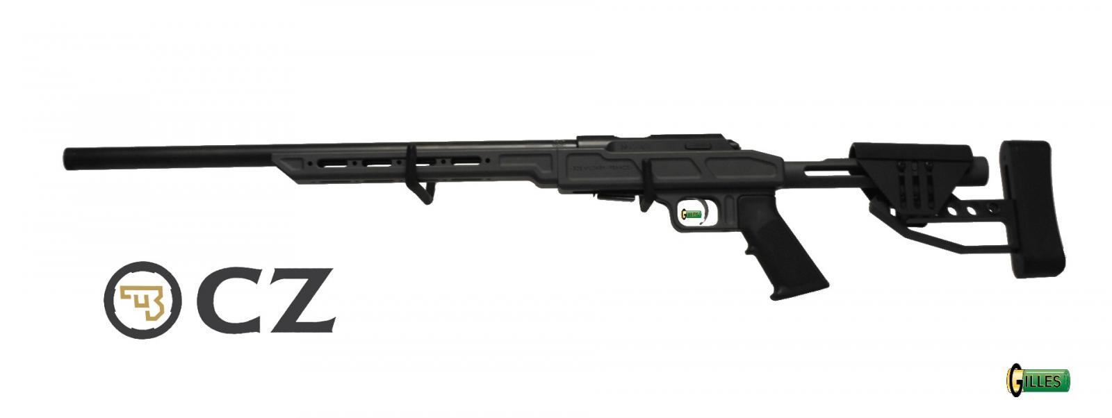 Carabine CZ 457 SDS MILITARY MATCH