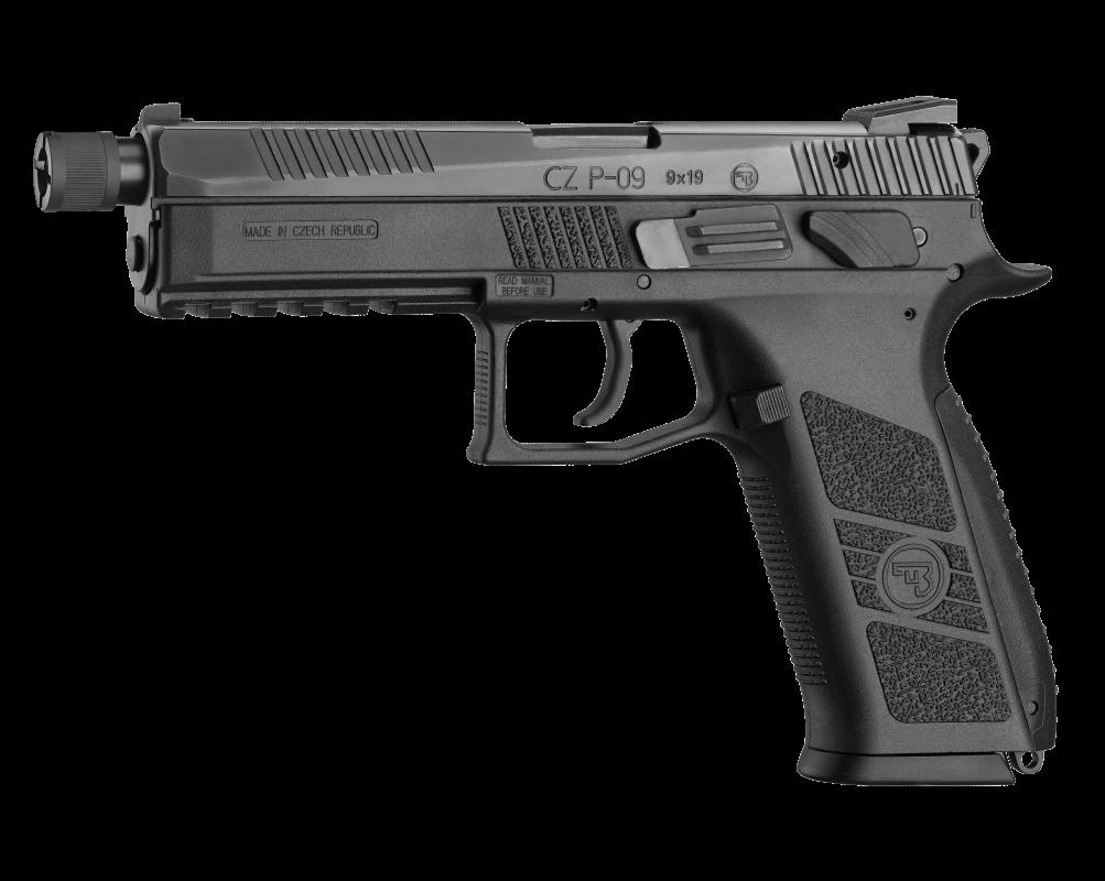 Pistolet CZ P-09 FILETÉ Cal 9x19