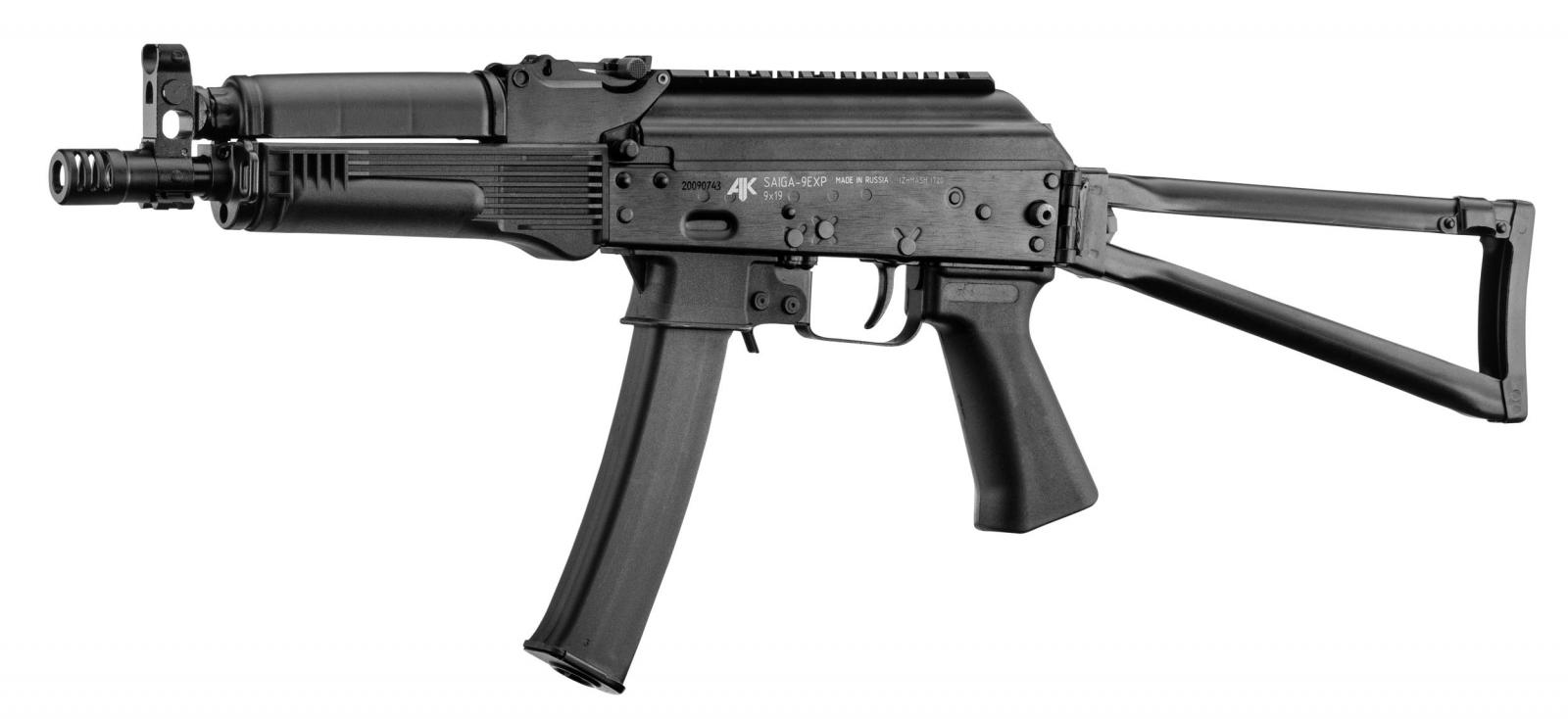 Carabine IZHMASH KALASHNIKOV SAIGA 9K Crosse Fixe Cal 9x19