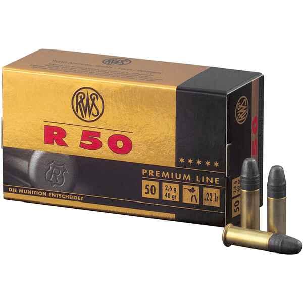 Boite de 50 cartouches RWS R 50