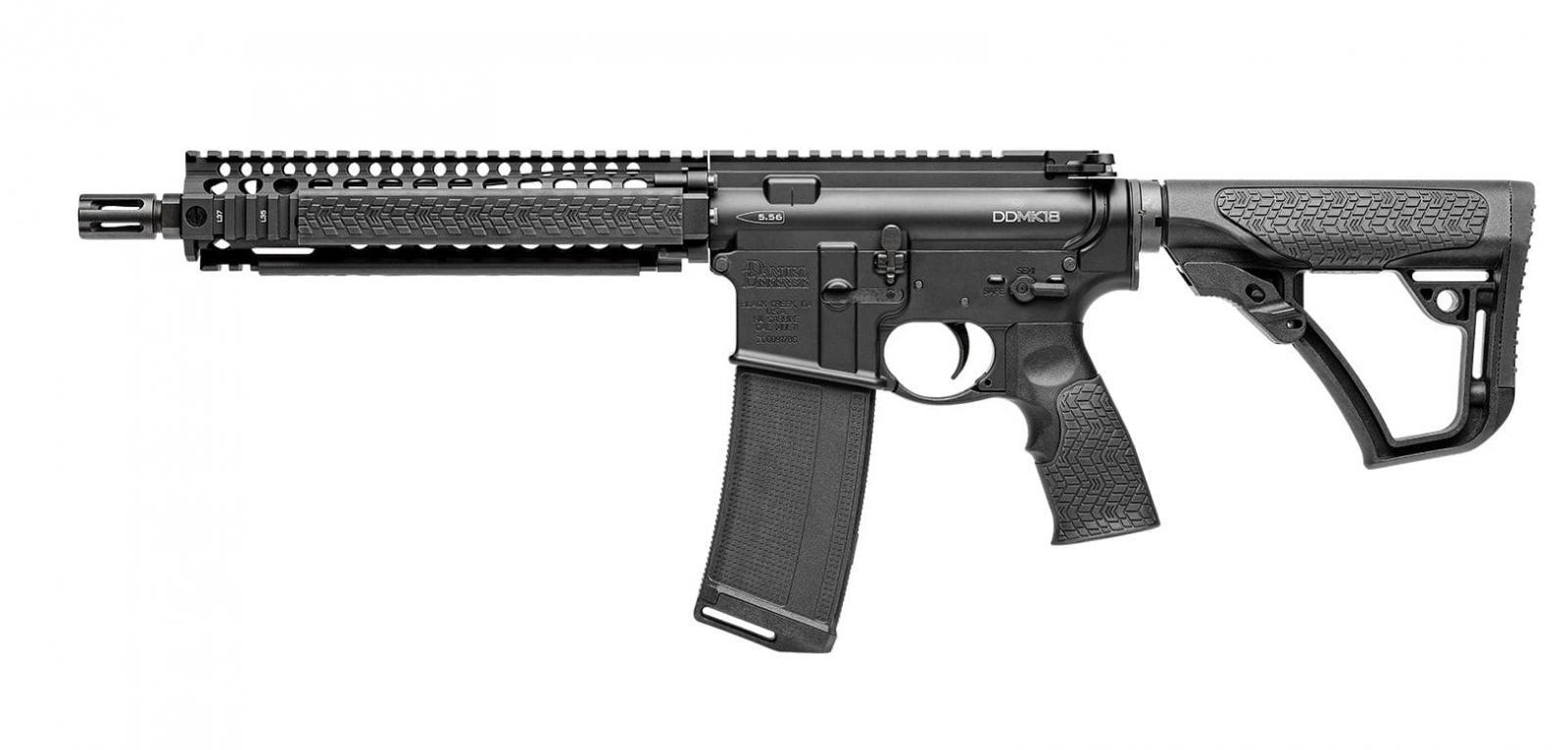 Carabine type AR15 DANIEL DEFENSE MK 18 canon court 10,3'' 5,56 mm (223 Rem)