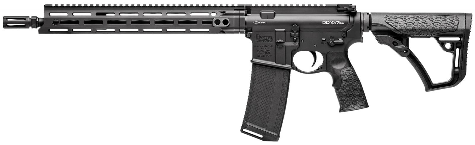 Carabine type AR15 DANIEL DEFENSE M4 SLW Black Cal 5,56 mm (223 Rem)