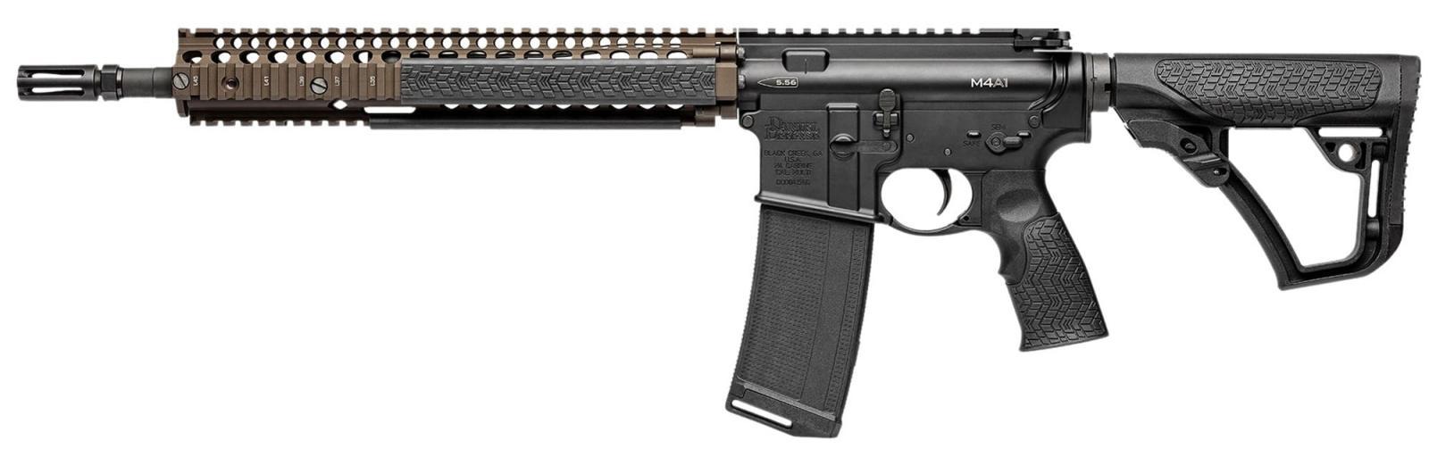 Carabine type AR15 DANIEL DEFENSE M4A1 FDE Cal 223 Rem