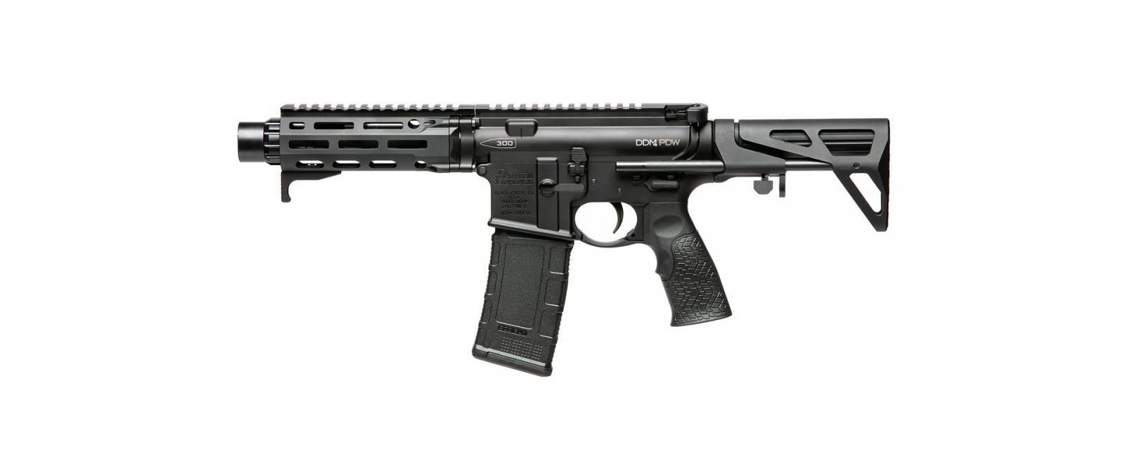 Carabine DANIEL DEFENSE PDW Black Cal 300AAC (300BLK)