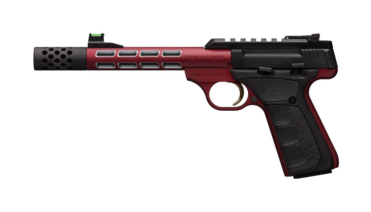 PSA BROWNING BUCK MARK VISION PLUS RED  Cal 22lr