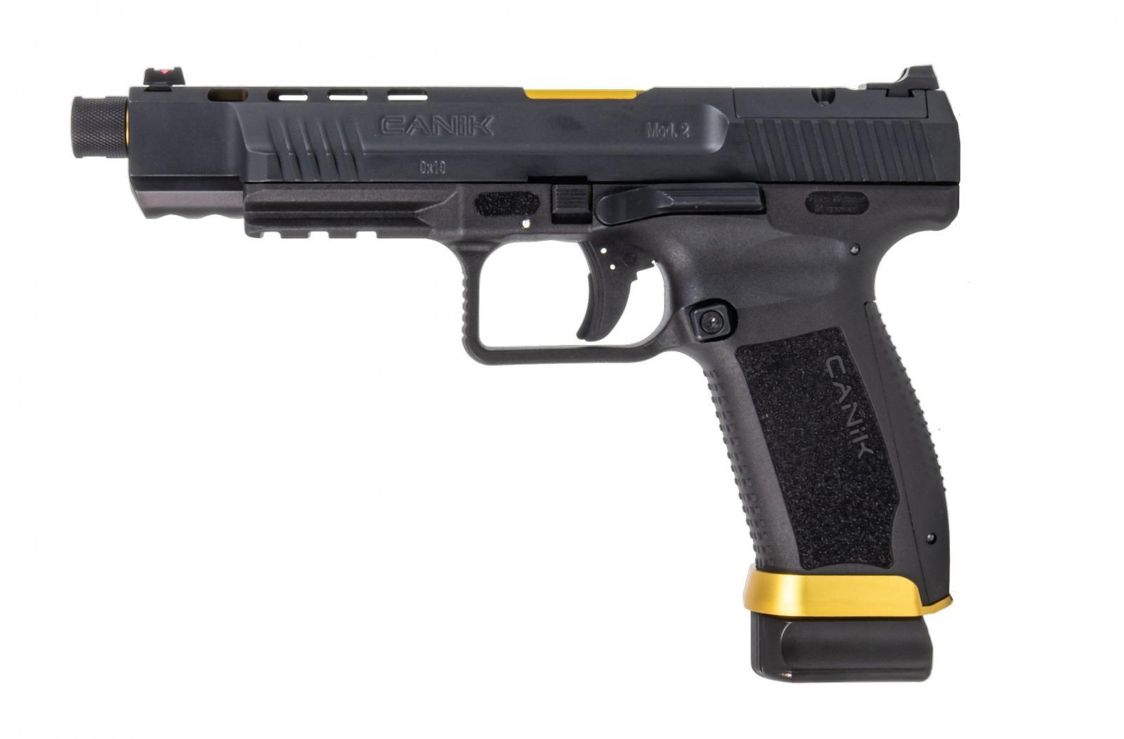 P.S.A. CANIK TP9 SFX MOD2 CUSTOM BLACK/GOLD Cal 9x19