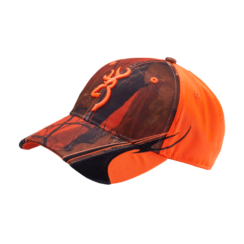 Casquette BROWNING fluo/camo