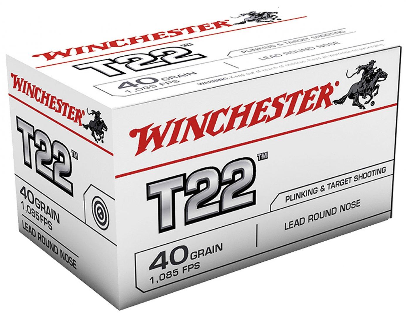 Boite de 50 cartouches T 22 STANDARD WT22LR