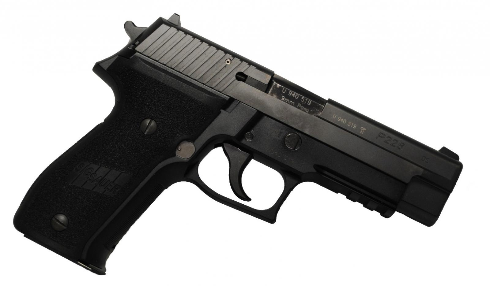 OCCASION Pistolet SIG P226 TAR Cal 9mm