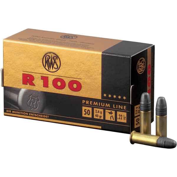 Boite de 50 cartouches  RWS R100