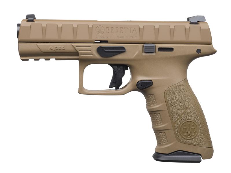 Pistolet APX TACTICAL FDE DESERT Cerakoté Cal 9x19