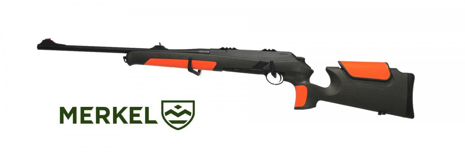 Carabine MERKEL RX HÉLIX SPEEDSTER verte/orange Cal 30-06