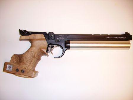 Pistolet STEYR LP 50 à air 5 coups gaucher LP50G