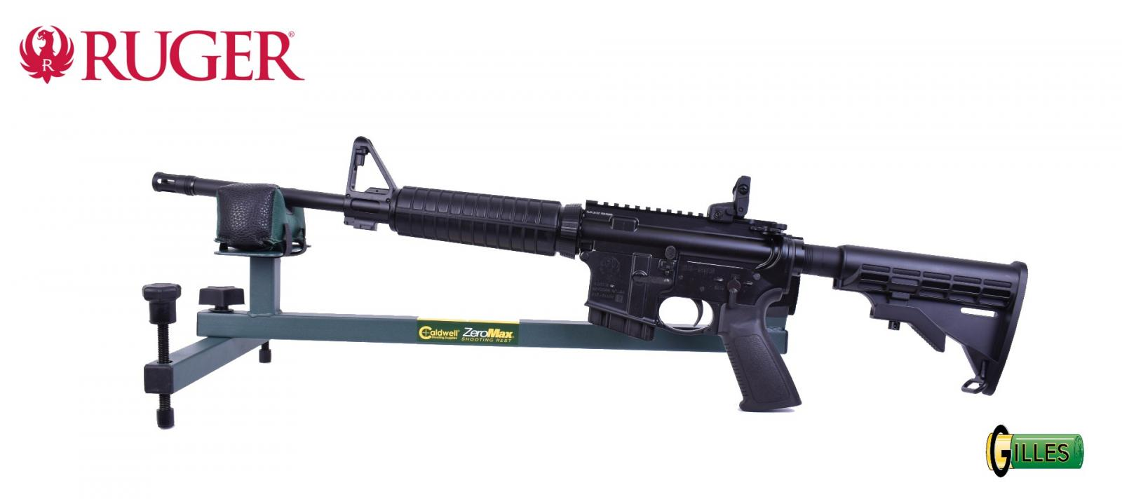 """Carabine RUGER AR 556 NATO 16.10"""" Cal. 223"""