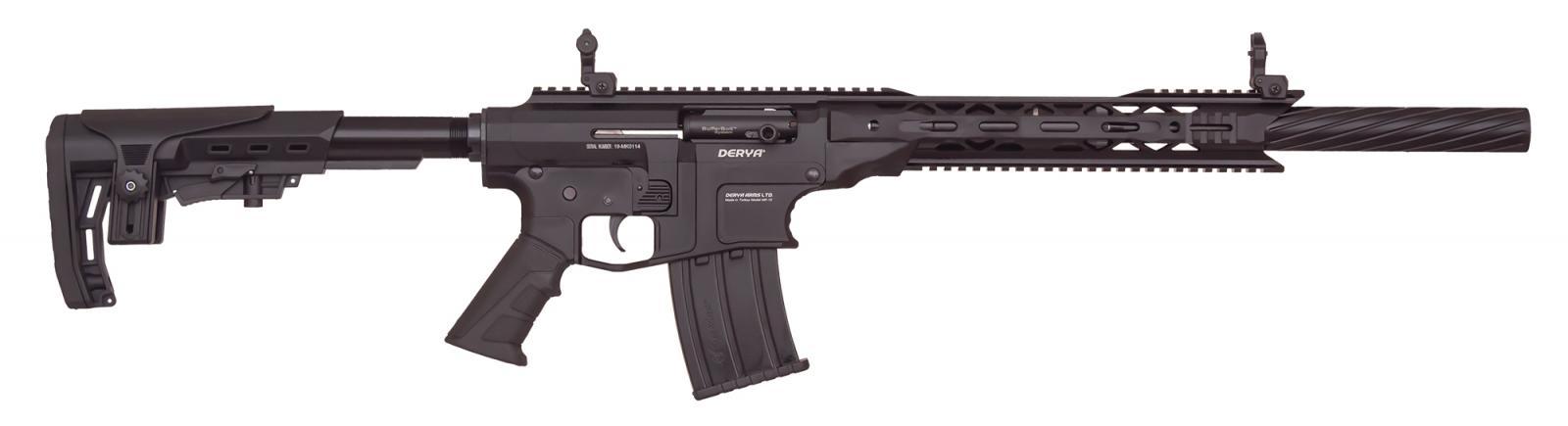 Fusil DERYA ARMS MK 12 Cal. 12/76 AS100S