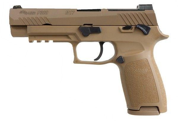PSA SIG SAUER P320-M17 Désert Cal. 9mm