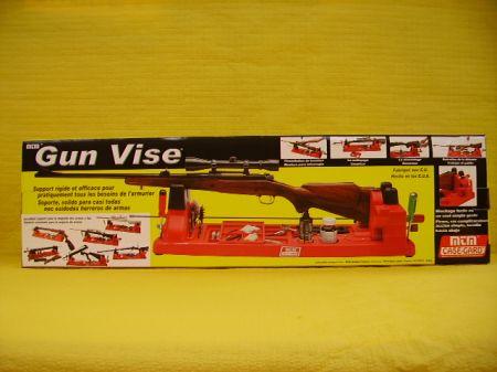 Support pour nettoyage et entretien d'une arme longue MTM GUN VISE