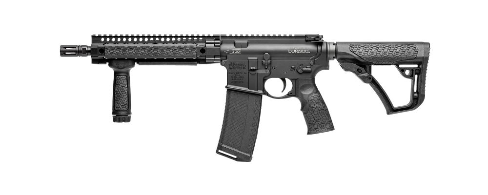 Carabine type AR15 DANIEL DEFENSE SBR 10,3'' Cal 300AAC (300BLK)