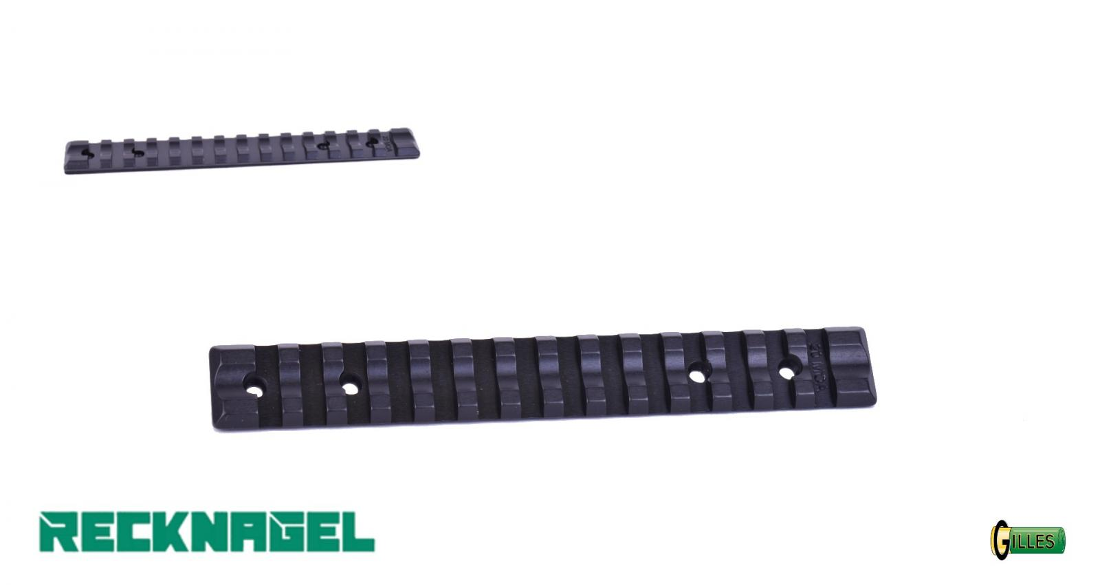 Rail Long Picatinny RECKNAGEL pour Tikka T3 20MOA